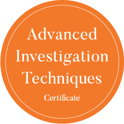 Advanced Investigation Techniques Certificate