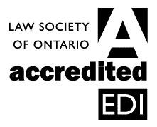 LSO Accredited EDI