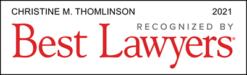 Christine Thomlinson - 2021 Best Lawyers